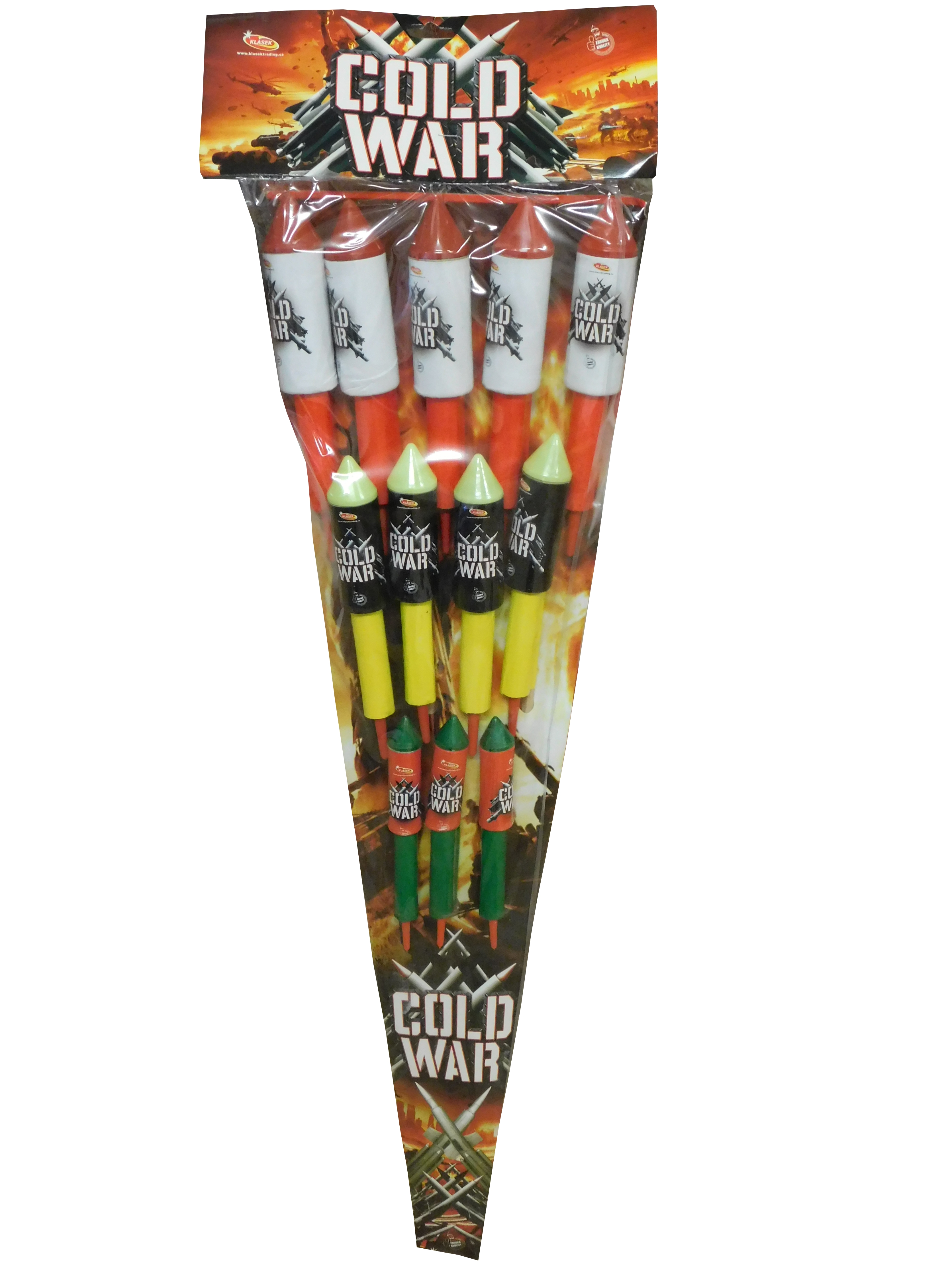 Pyrotechnika Rakety Cold War set 12ks