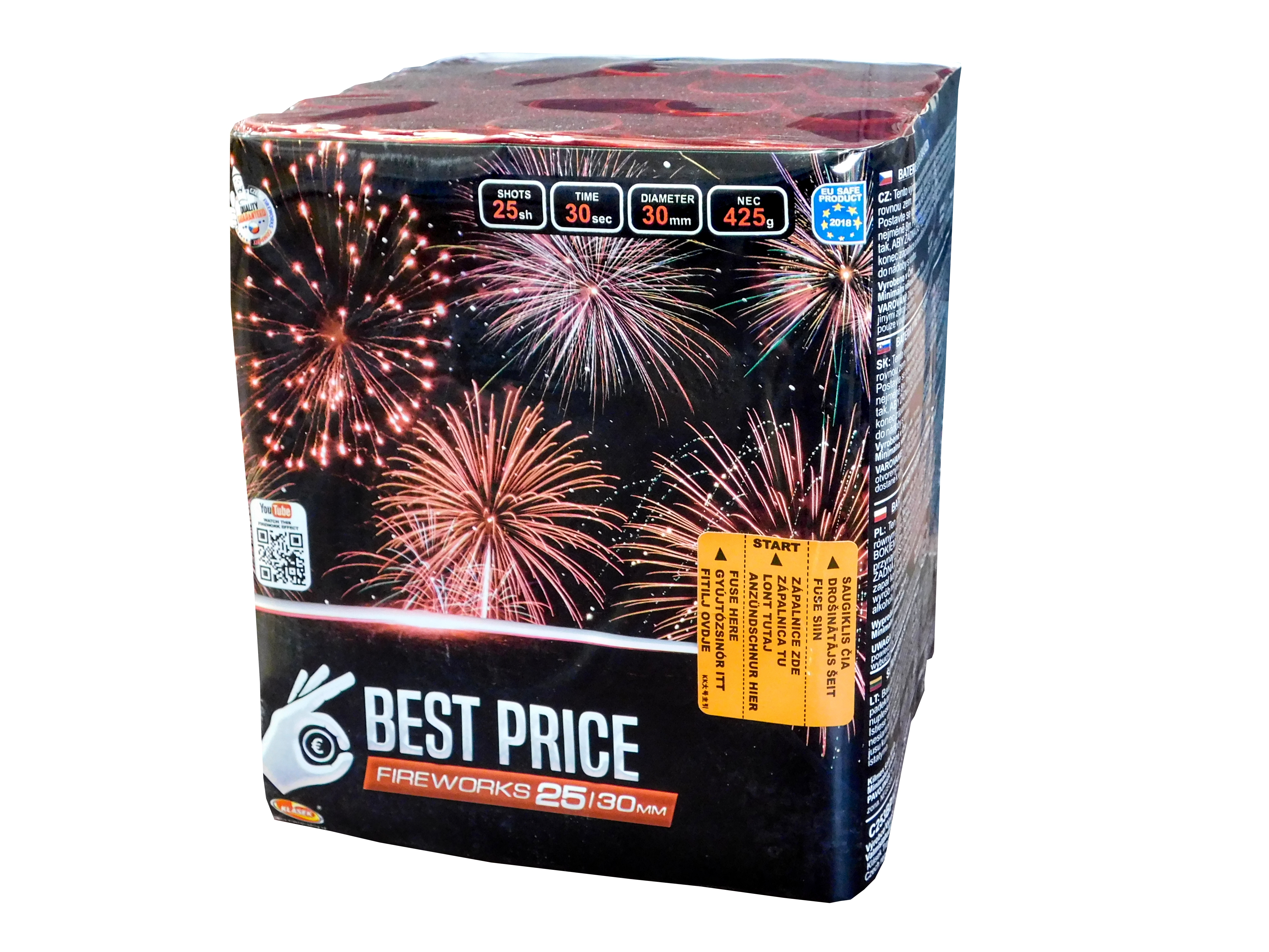 Pyrotechnika Kompakt 25ran / 30mm Best Price
