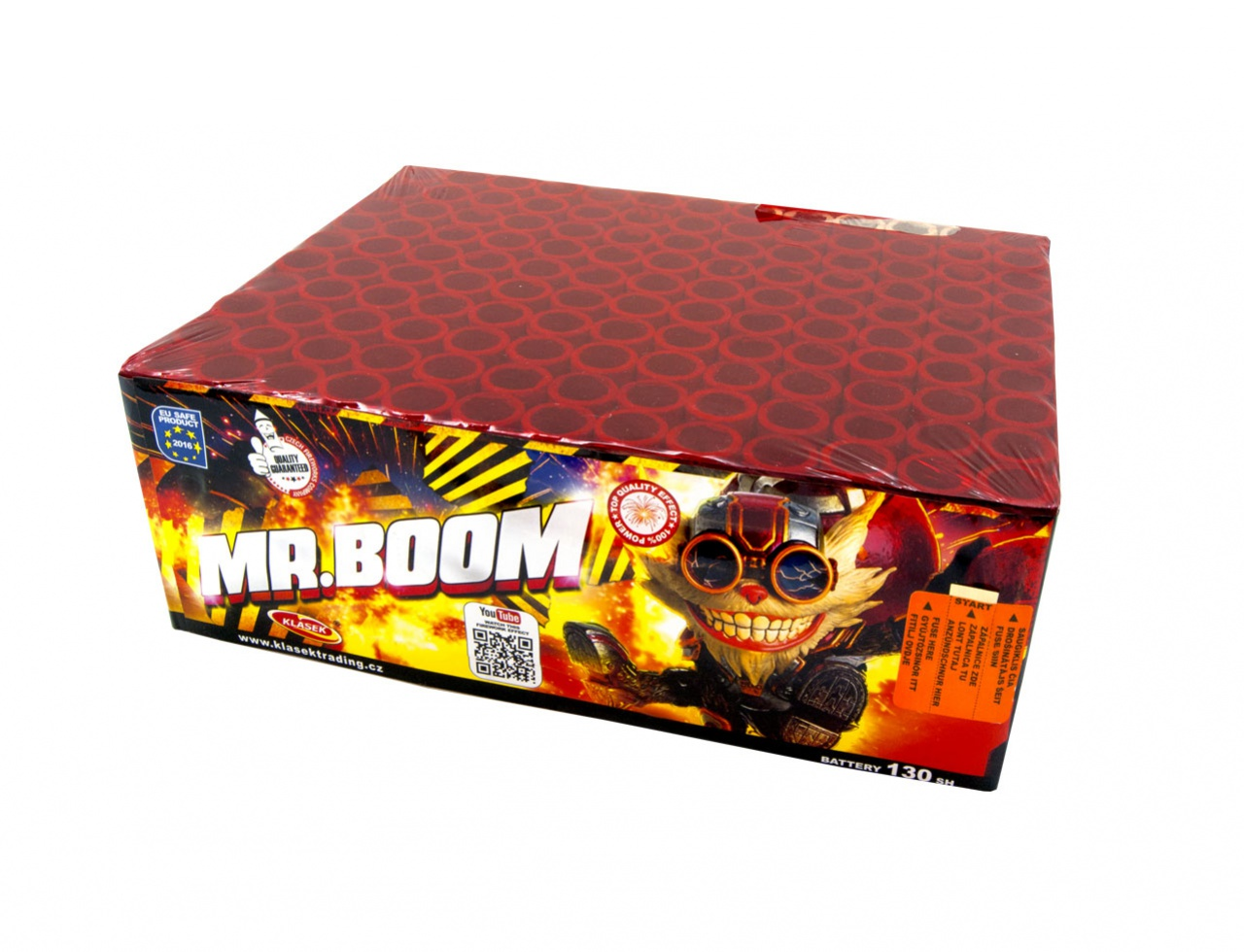 Pyrotechnika Kompakt 130 ran / 20mm Mr.Boom