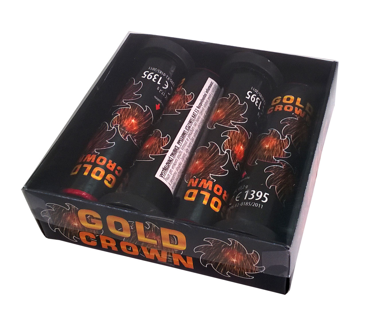 Pyrotechnika Kulové pumy Gold Crown 30mm 4ks