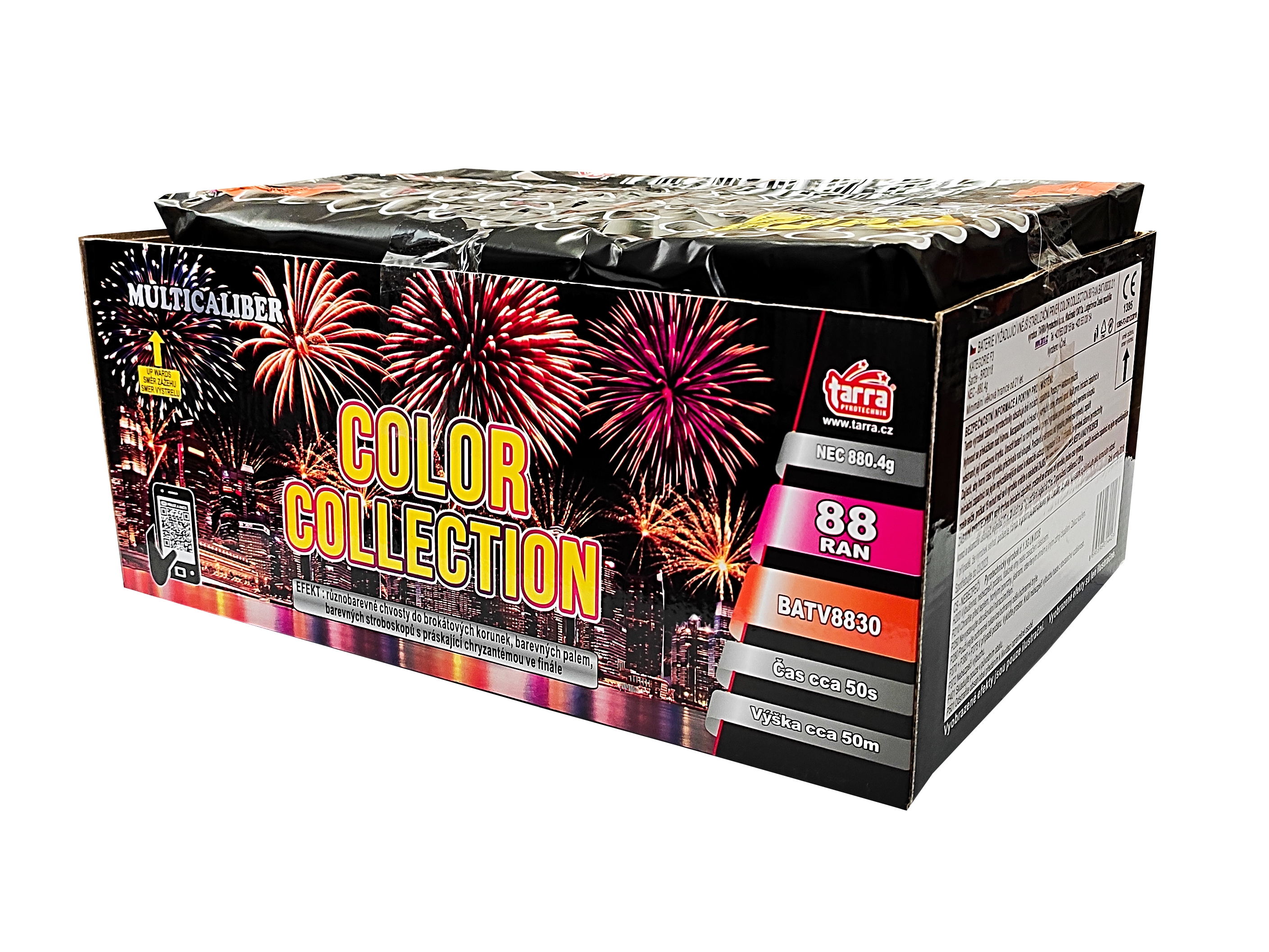 Pyrotechnika Kompakt 88ran / 20, 25 a 30mm Color Collection