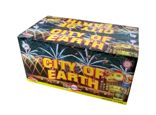 Pyrotechnika Kompakt 84 ran / 30 a 50mm City of Earth