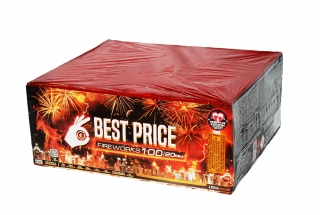 Pyrotechnika Kompakt 100ran / 20mm Best Price Wild Fire Multi