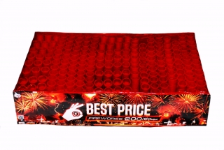 Pyrotechnika Kompakt 200ran / 20mm Best Price Wild Fire Multi